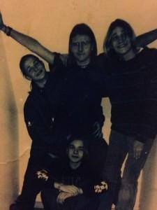 Første band på Bjerre Herred Efterskole ca. 1995